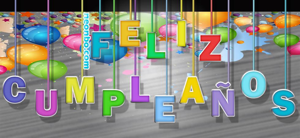 Fuente De Texto De Feliz Cumpleaños