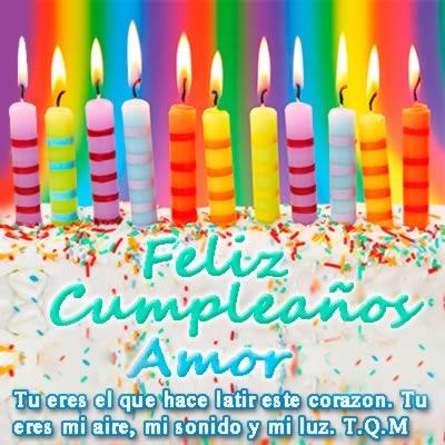 Imagenes De Feliz Cumpleaños Para Novia Novio Y Corazón